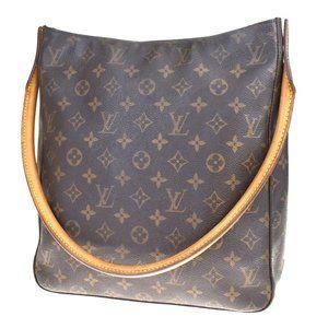 Auth Louis Vuitton Looping Gm Shoulder #N6719V97O